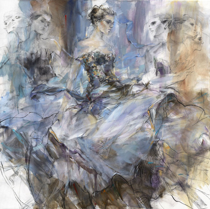 Anna Razumovskaya |Figurative Painting #artpeople